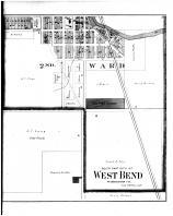 West Bend City - South, Boltonville, Myra - Right, Washington and Ozaukee Counties 1892